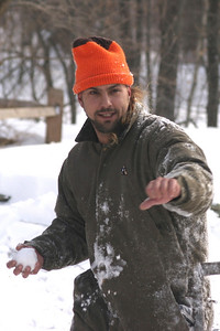 Snowball Fight, January 2005