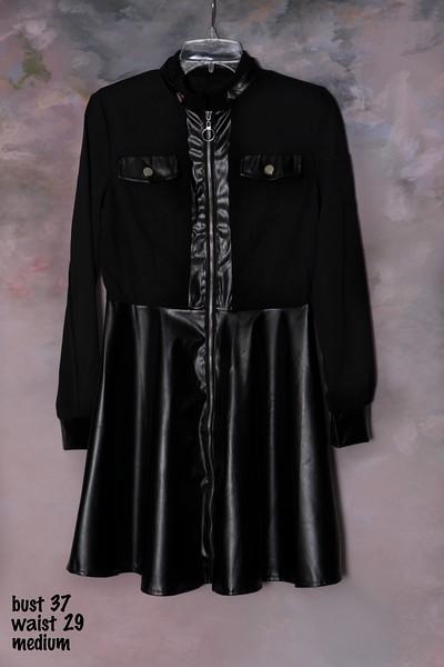 fake leather dress (1)