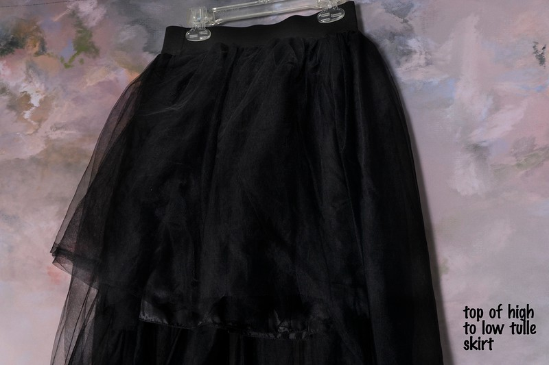 high low tulle skirt (2)