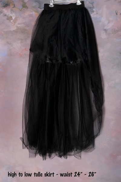 high low tulle skirt (1)