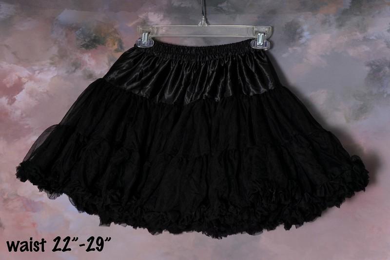petticoat type skirt