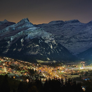 Diablerets by night