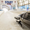 Calgary Olympic Park Bobsled Starting Line