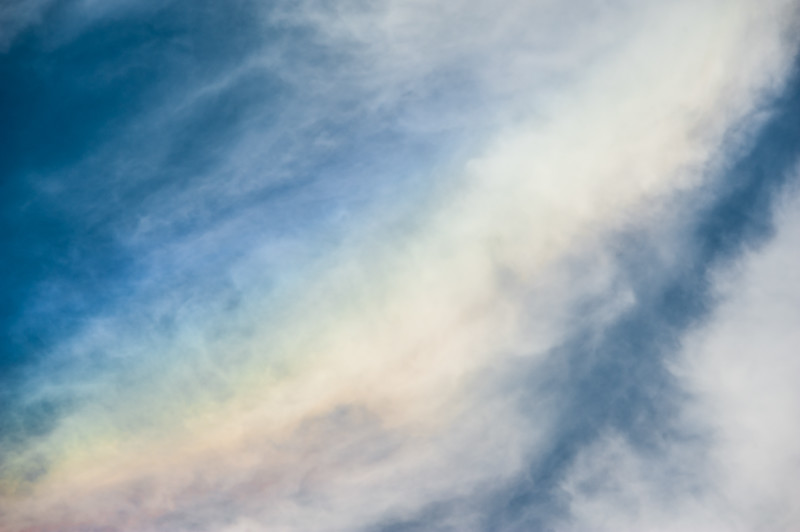 Fire Rainbow Abstract.