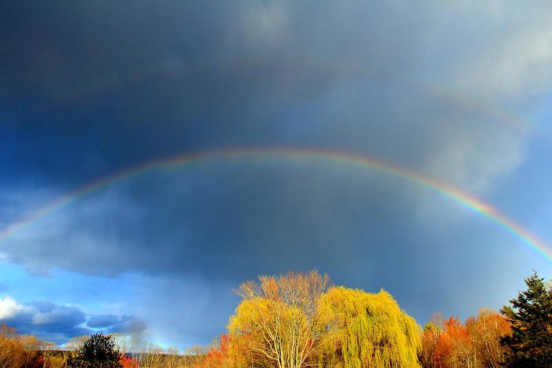 Double Rainbow 4-12-2012
