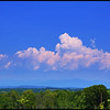 HDR clouds over the catskill mountains