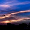 Cobalt altostratus at sunrise-October 19, 2010-1722