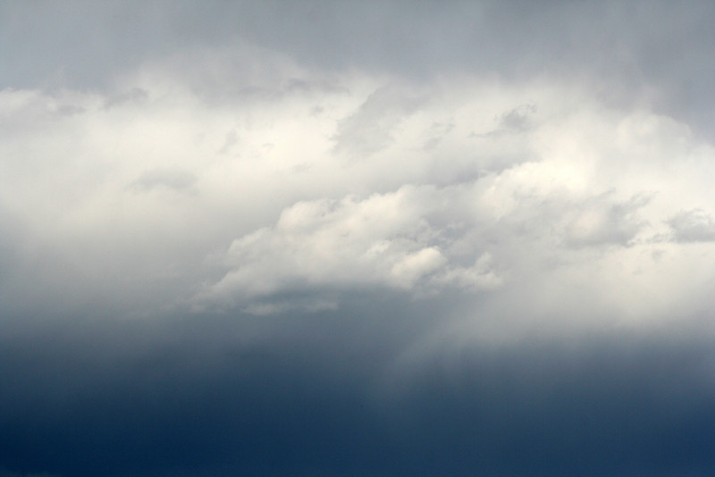 17 August 2012: sky over Jervis Bay.