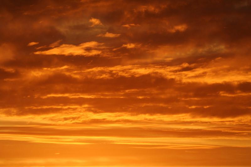 28 February 2013: Dawn sky over Marickville.