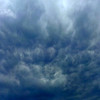 18 January 2013: angry sky above Ashfield, Sydney.