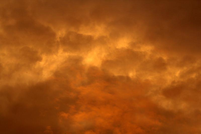 28 February 2013: Dawn sky over Marickville (detail).