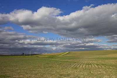 Clouds over Farmland