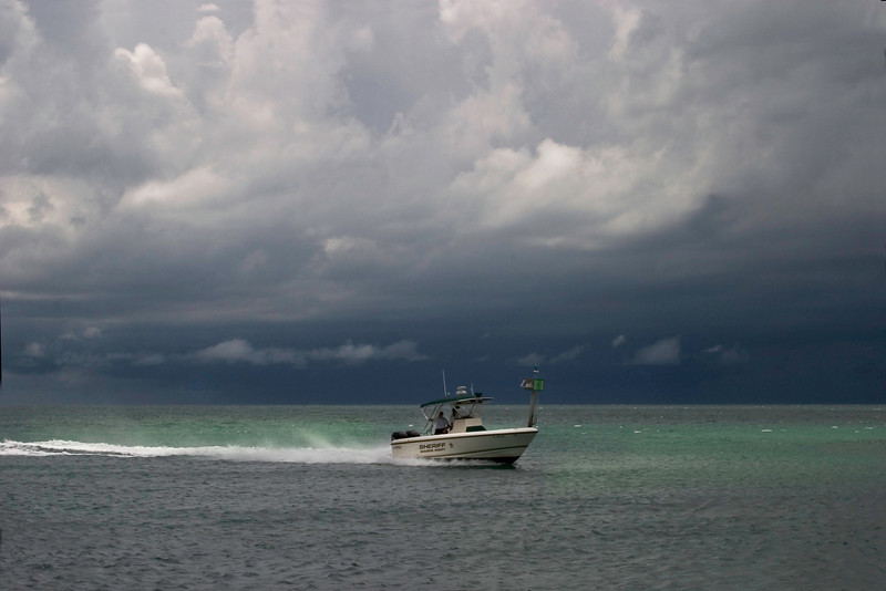 A Storm At The Jetties, Venice, Florida.<br /> 2008
