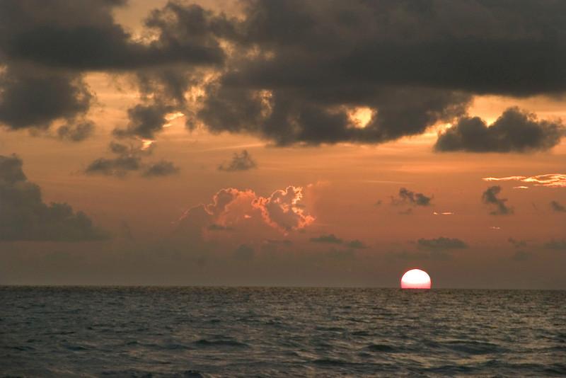 Sunset At Sharkies, Venice, Florida<br /> August, 2008