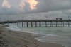 As The Sun Sets at Sharkies Pier, Venice, Florida, August, 2008