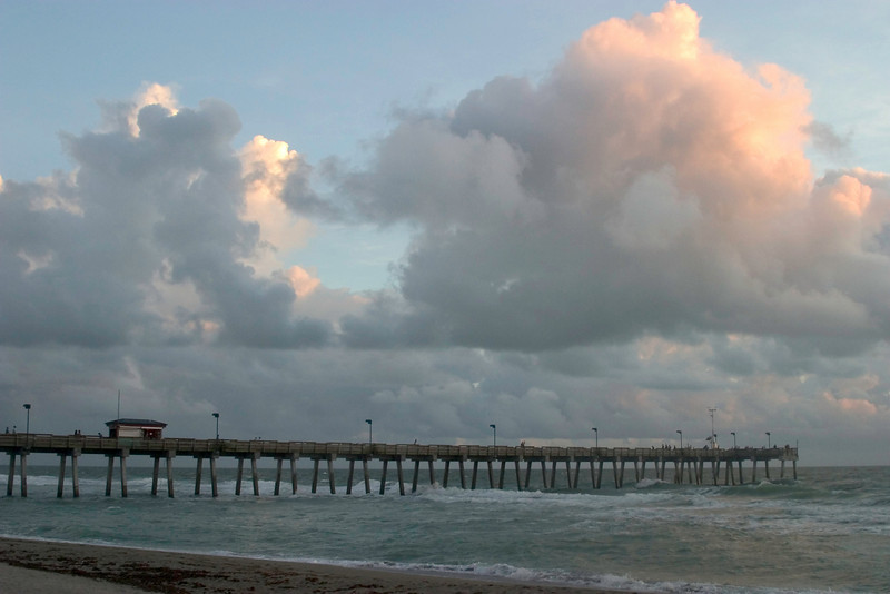 #2 Cloud Formations At Sharkies Pier,Venice,Florida.<br /> August,2008