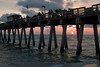 #2 Falling Sunset At Sharkies Pier, Venice, Florida.<br /> August,2008