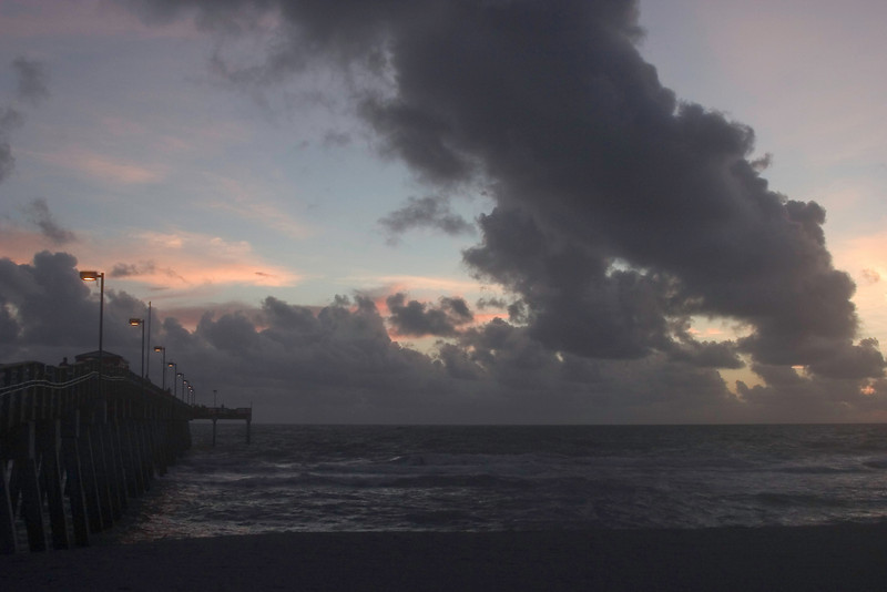 #3 Funnel Clouds, Sharkies Pier, Venice, Florida August,2008
