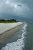Sharkies Pier overlooking Casperson Beach, Venice, Florida.<br /> 2008
