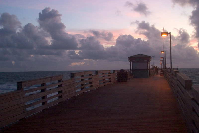 Walking The Pier. Venice, Florida<br /> August,2008.