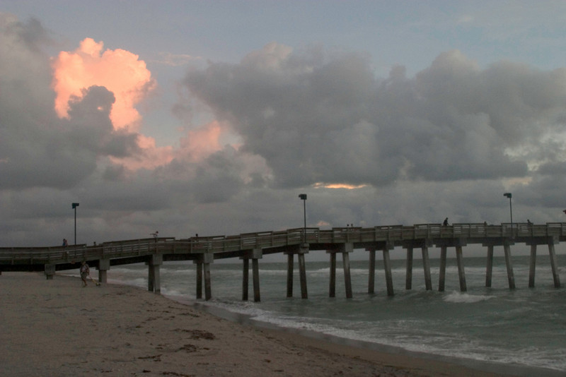 Paradise As I See It At Sharkies Pier, Venice, Florida, August, 2008