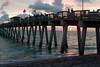 #1 Falling Sunset At Sharkies Pier, Venice, Florida