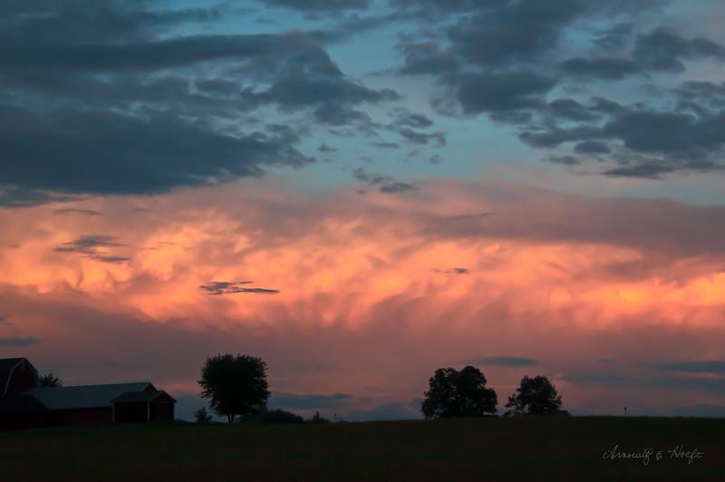 Sunset  8/11/2014