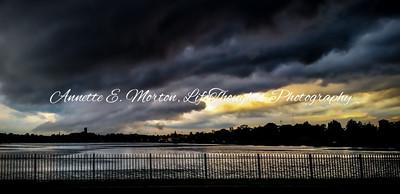 """""""Stormy Bello"""" Lake Montebello, Baltimore MD"""
