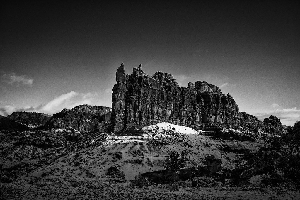 Winter at Ghost Ranch, Abiquiu, New Mexico