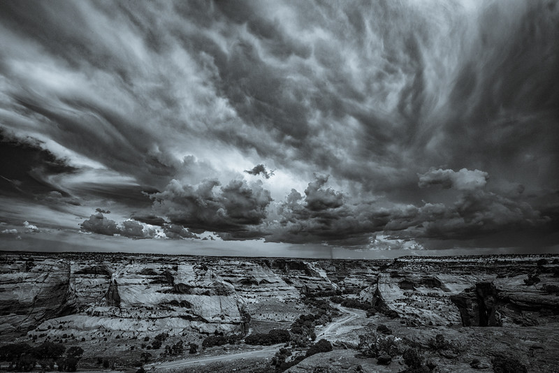 Afternoon Storm Brewing Over Canyon de Chelly