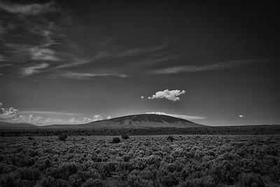 San Antonio Mountain from the Colorado - New Mexico Border