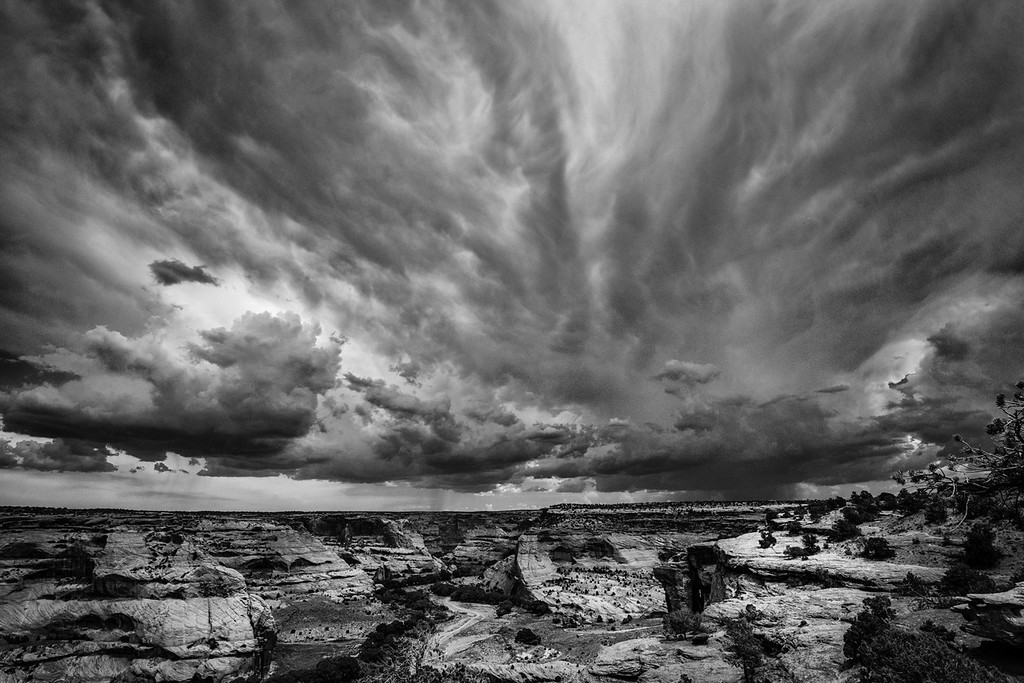 Afternoon Storm, South Rim, Canyon de Chelly