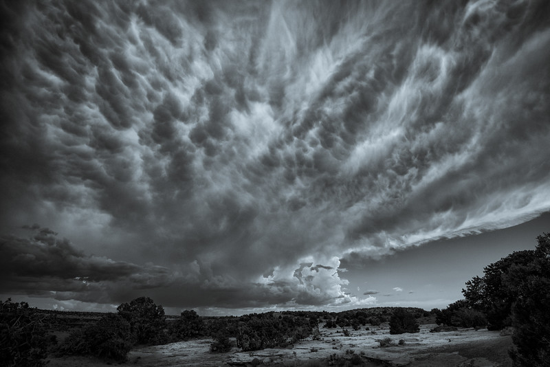Mammatus Clouds near Chama, New Mexico