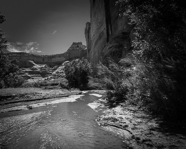 Stream from Overnight Rain, Canyon de Chelly