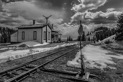 Cumbres Pass Depot, New Mexico