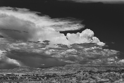 Storm Cumulus Over Northern New Mexico