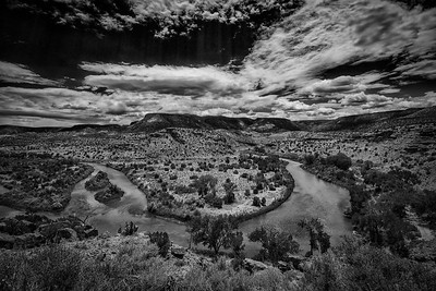 Summer on the Rio Chama, Abiquiu, New Mexico