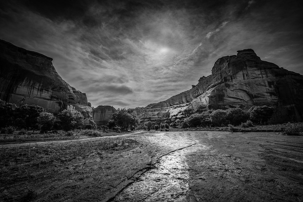Canyon de Chelly and the Chinle Wash