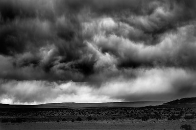 Late Afternoon Storm in the Santa Fe Basin, New Mexico