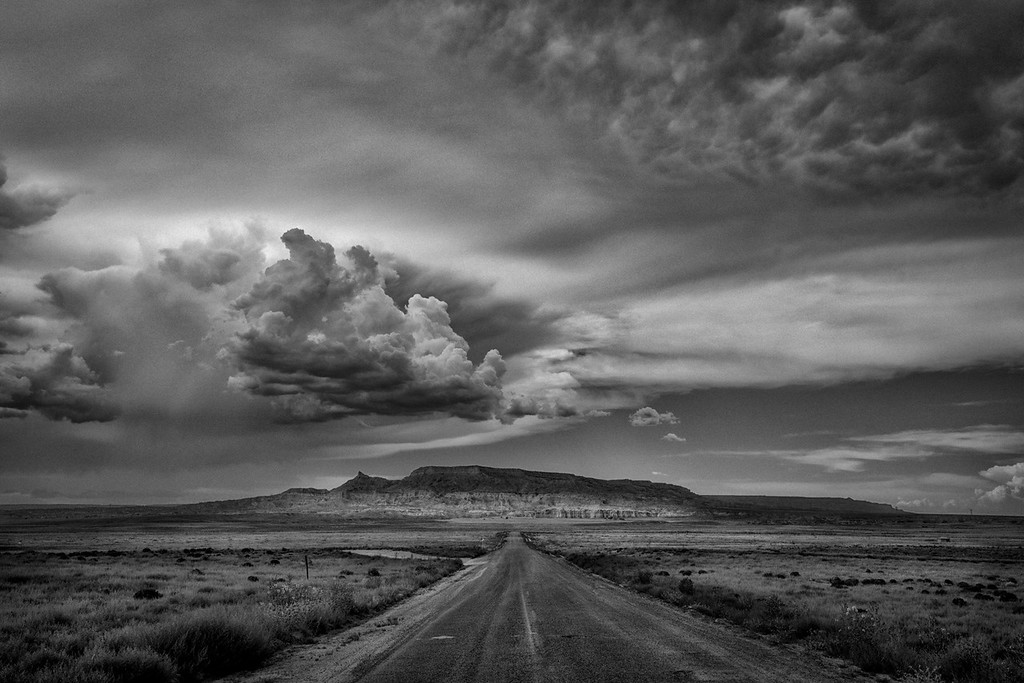 Lohali Point and Lohali Mesa, West of Chinle, Arizona