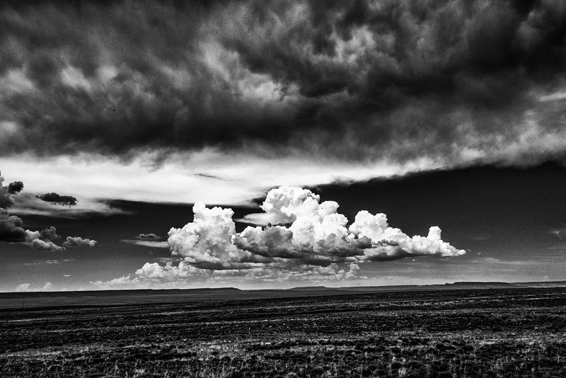 Cloudscape Over the Navajo Reservation, Eastern Arizona