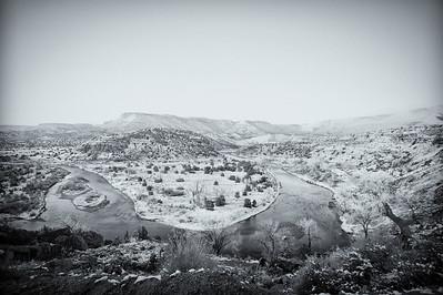 Winter Day on the Rio Chama, Abiquiu, New Mexico