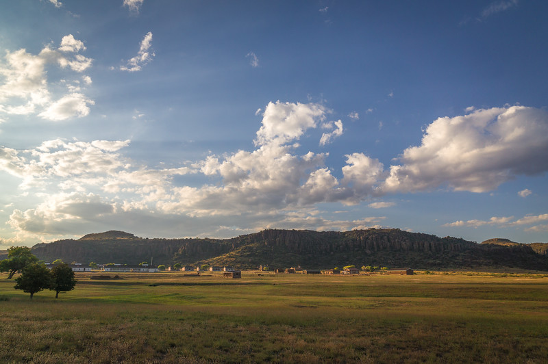 Late afternoon at Fort Davis