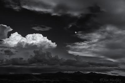 Twilight Moon Rise