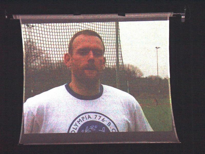 Sportgala 2005 - Foto van filmpje Erik II