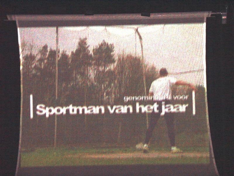 Sportgala 2005 - Foto van filmpje Erik III