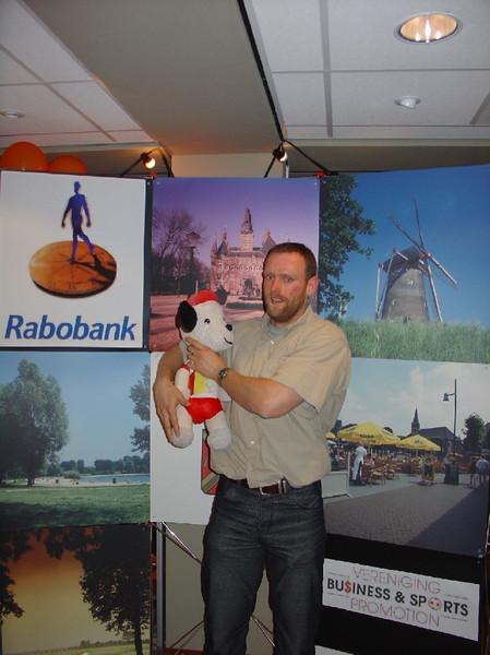 Sportgala 2005 - Erik en AVW mascotte