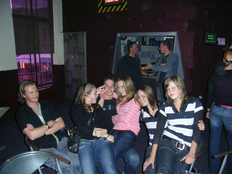 Jannes, Denise, Remon, Chemille, Kirsten & Maaike