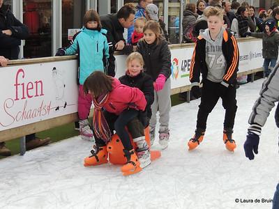 Pupillen schaatsen 2016