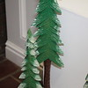 CLOSE UP OF CHRISTMAS TREE CARVING DESIGN